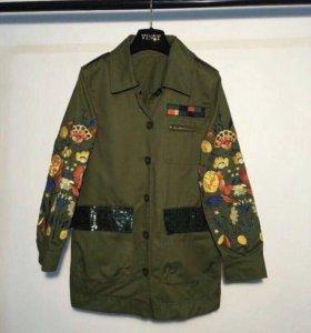 Куртка /парка с вышивкой