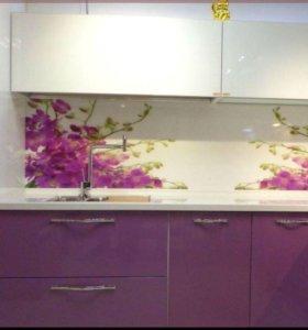 Кухонная мебель МДФ многослойная эмаль - 096