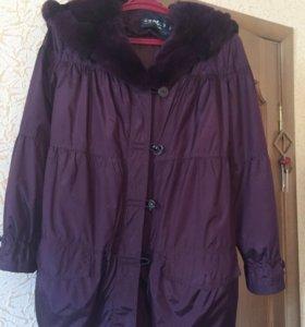 Укорочённое зимнее пальто