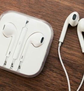 Гарнитура apple earpods. Новые