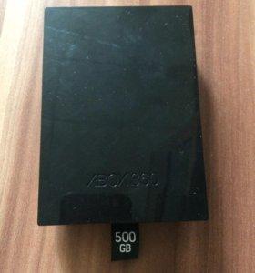 Жесткий диск Xbox 360, 500gb.