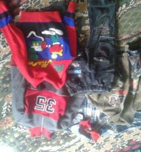 Вещи для мальчика на 3-4 годика