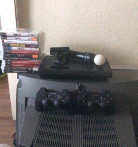 Sony PlayStation 3 super slim 500gb полный комплек