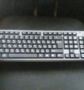 2x две клавиатуры.