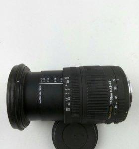 Sigma 17-70 mm 2.8-4.5 для Canon eos