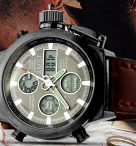 Армейские часы AMST в наличии