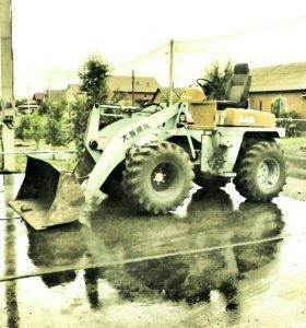 Услуги погрузчика и грузовика 7 тонн