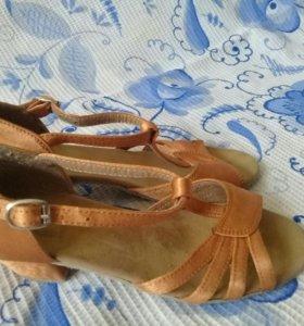 Туфли для бальных танцев 19 см