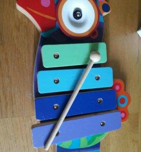 Ксилофон деревянный Djeco