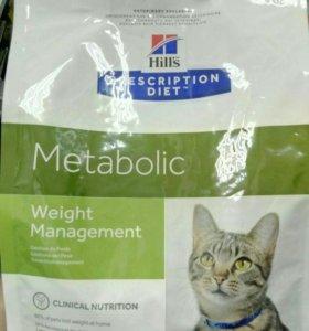Hill's Metabolic для кошек и котов