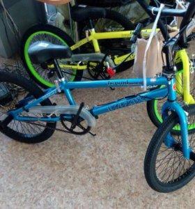 Новый велосипед  BMX.