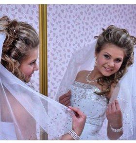 Свадебное платье! Есть еще фата и туфли 36 размер