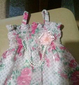Платье д/ маленькой принцессы.