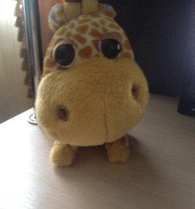 Мягкая игрушка Жираф Big Headz