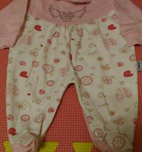 Детская одежда 0-3 мес