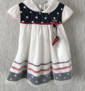 Платье на девочку до 2 х лет