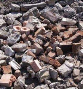 Отвал строительного мусора Гамово