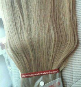 Волосы на клипсах