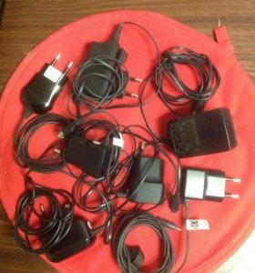 Зарядные устройства micro USB , Nokia , Samsung .