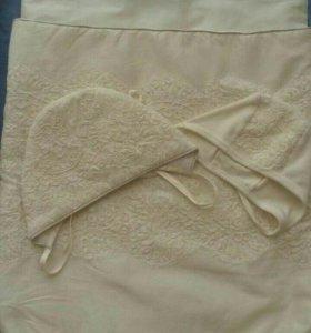 Конвертик для выписки с одеялом