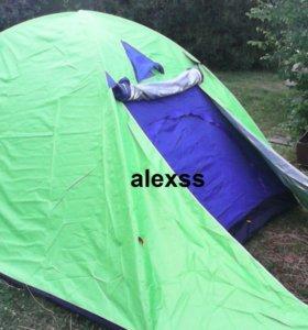 Палатка 6м 2слоя 250*220*150. Новая. В наличии