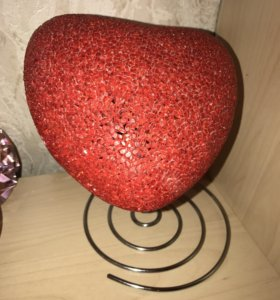 Интерьерная лампа-сердце