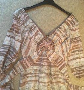 Блузка шелковая 40-42