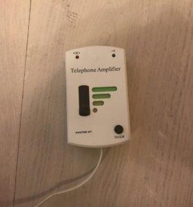 Усилитель звука в стационарном телефоне