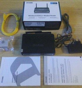 Wi-fi router DSL-2740U