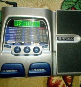 Гитарный процессор Digitech RP200