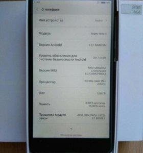 Xiaomi redmi note 4x 3/16Gb