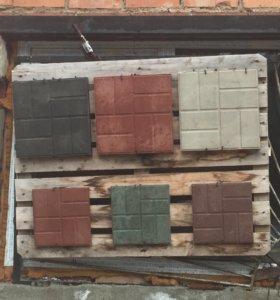 Плитка тротуарная полимерпесчаная разные ресунки ,