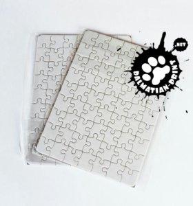 Пазл с печатью картонный А5