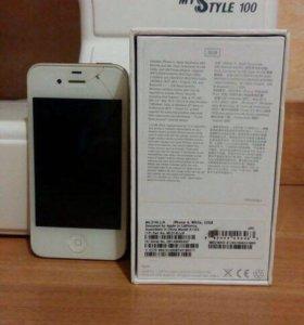 iPhone 4 white 32GB