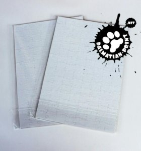 Пазл с печатью картонный А4