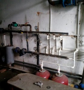 Ремонт, замена систем отопления.