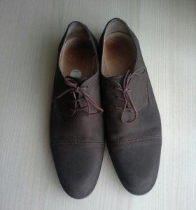 Туфли нат.кожа р44