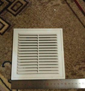 Вентиляционная решетка 15х15 см.