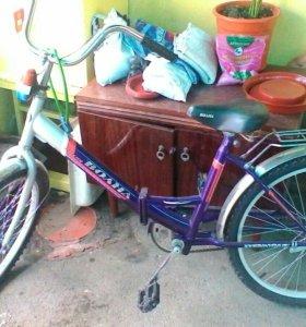 Велосипед складной подростковый 6...12лет почти