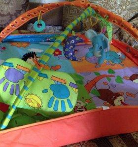 Развивающий коврик для малыша б/у
