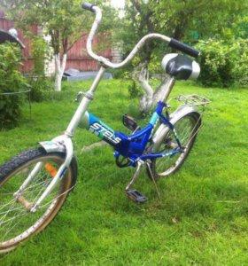 "Велосипед ""steals"" синий"