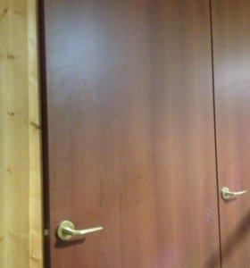 Двери мдф б/у в хорошем состоянии 6 шт.