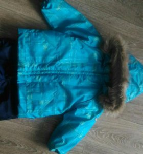 Зимний костюм для мальчика Huppa