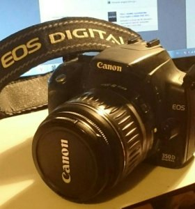 Зеркальный фотоаппарат Canon EOS 350D