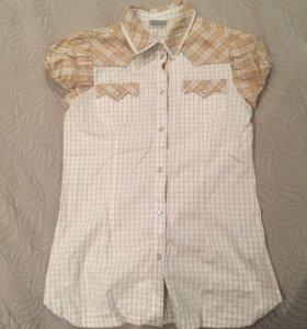 Рубашка DG. Для девочки. Размер XL. Практ. новая.