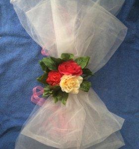 Украшение для свадебного кортежа