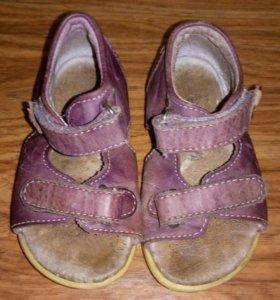 Кожаные сандали, 21 размер