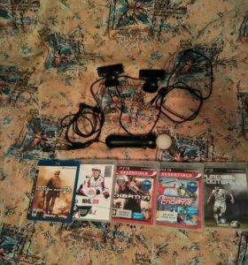 Диски , камеры и мув для PS3