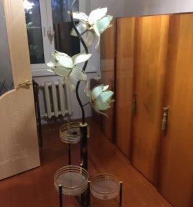Торшер+ цветочница