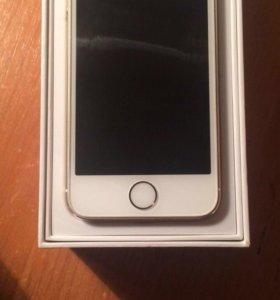 iPhone 5s б/у, 16 GB, золотой
